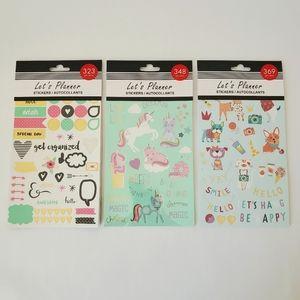 BUNDLE! 3 Sticker Books